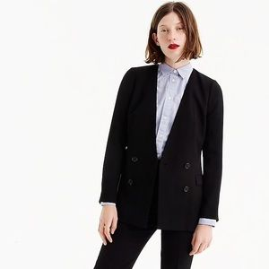 J Crew French Girl 365 Crepe Blazer (NWT)